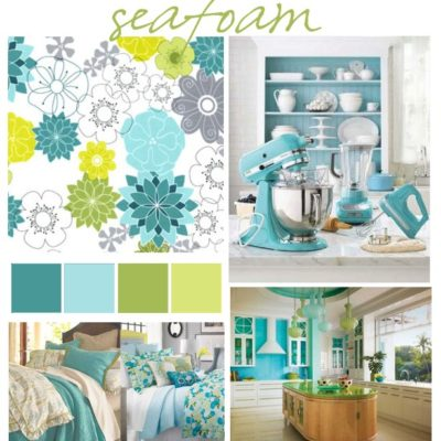 Color Pallet – Seafoam