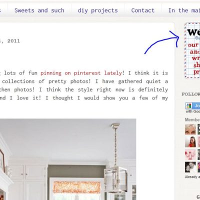 Keeping Your Blog All In A Line – Tutorial
