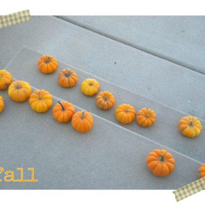 Catapulting Pumpkins + Digital Washi Tape