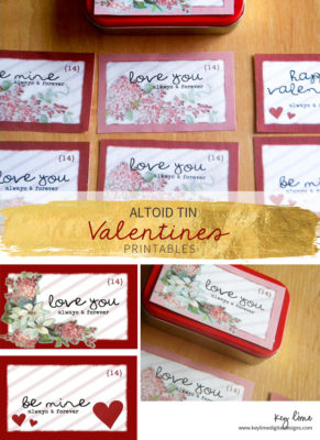 Altoid Tin Valentines Printables