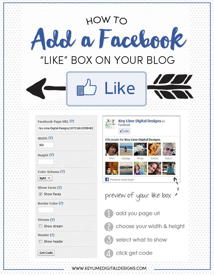 How To Add A Facebook Like Box