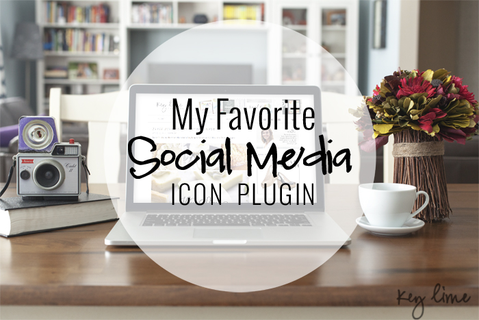 My Favorite Social Media Icon Plugin!