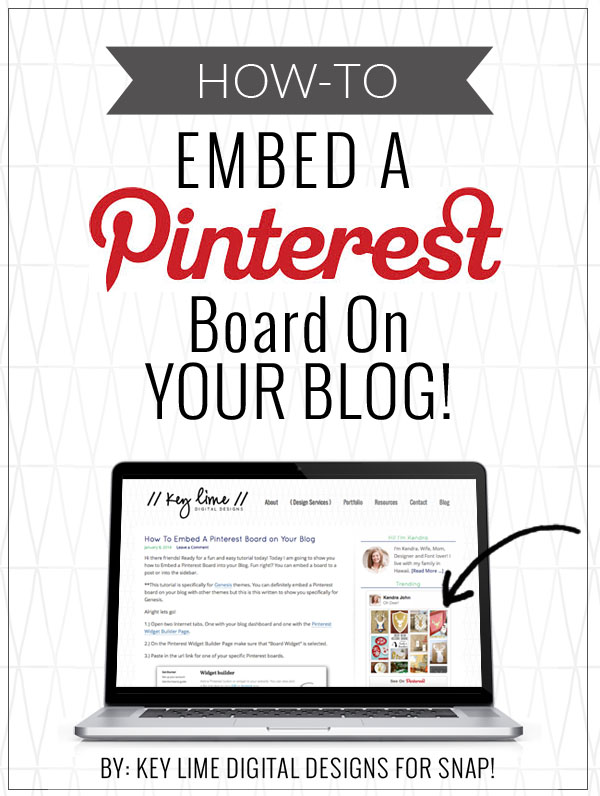 How to Add a Pinterest Board in a Blog Post