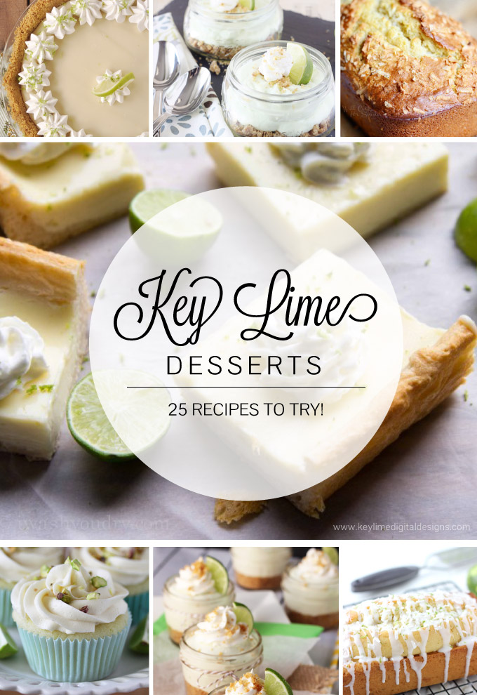 25 Key Lime Desserts + My Blog Name