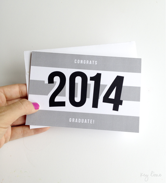 Printable Graduation Card