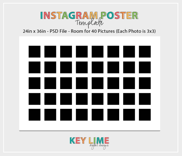 Instagram Poster Template