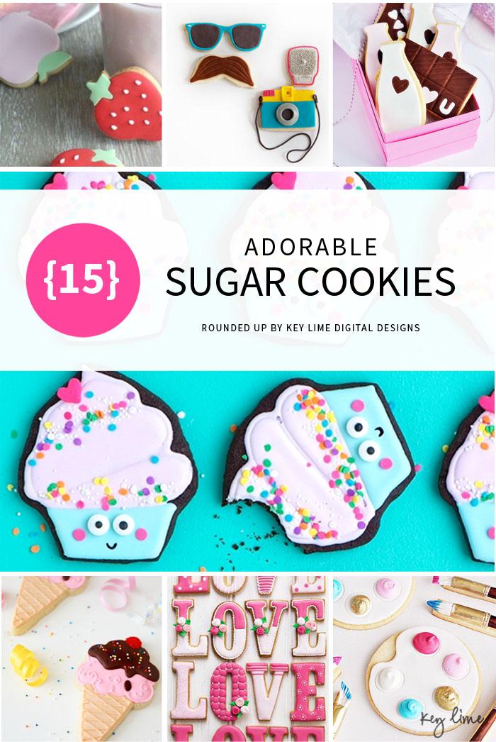 15 Adorable Sugar Cookies