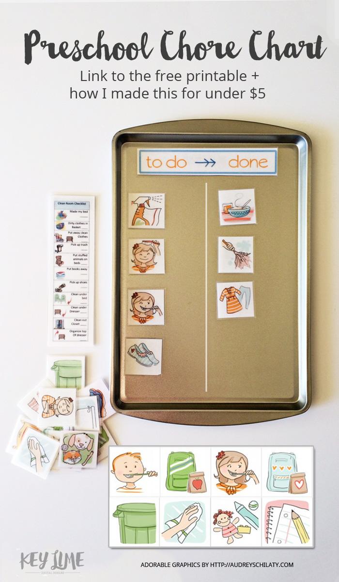 Preschool Chore Chart
