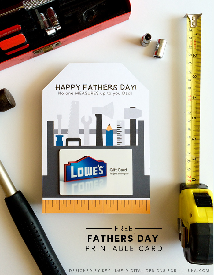 Fathers Day Gift Idea + Printable