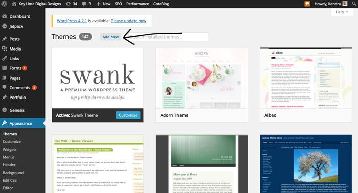 Wordpress-Themes-101