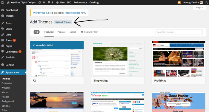 Wordpress-Themes-101