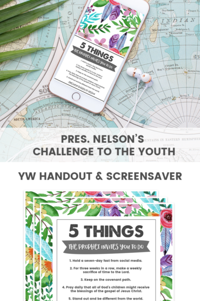 President Nelson's Challenge to the Youth