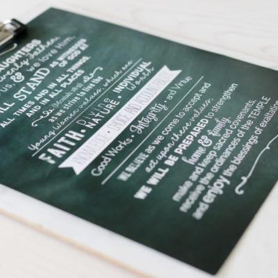 YW Theme Free Printable