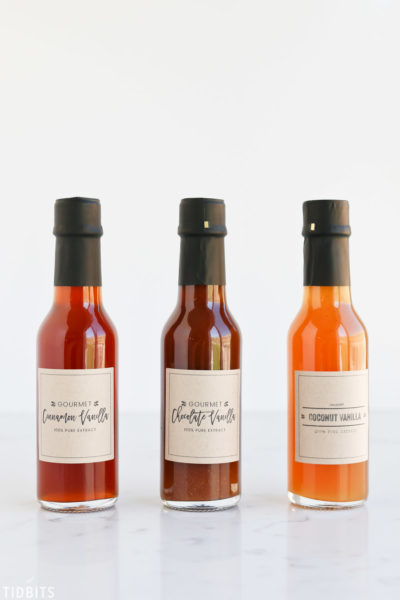 Gourmet Extract Labels (Tidbits)