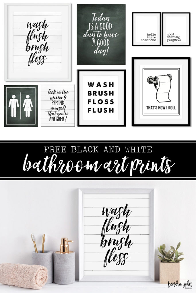 Bathroom Printables