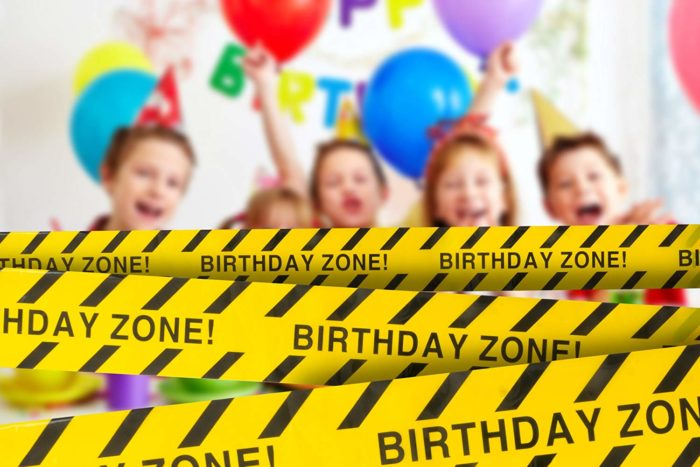 Birthday Party Decor for Construction Theme