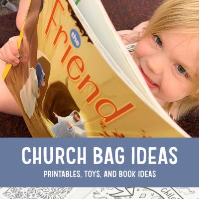 Quiet Activites for Kids during Sacrament Meeting