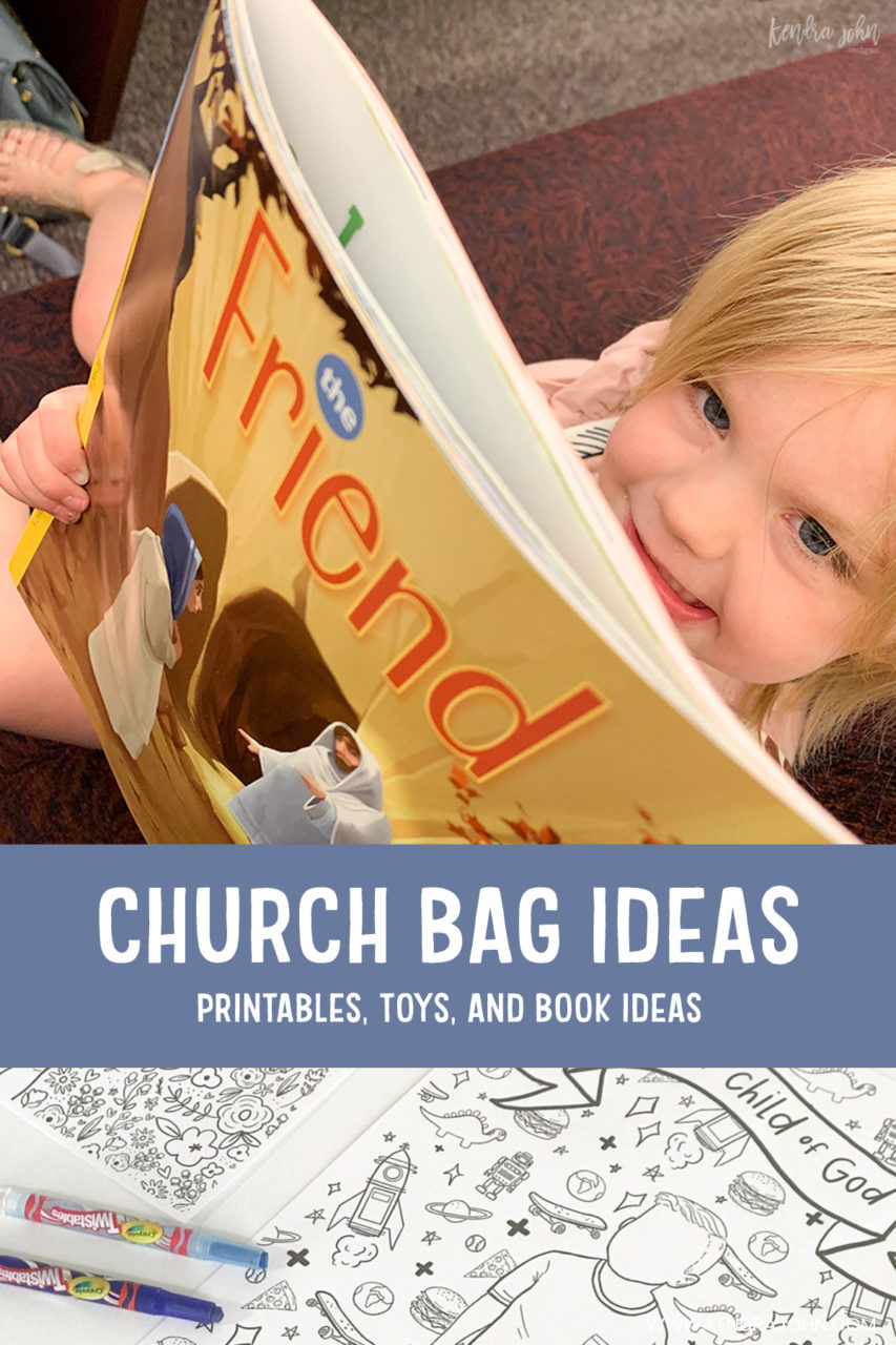 Church Bag Ideas for Little Kids