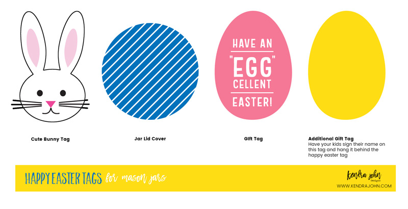 Free Easter Printable Gift Tags