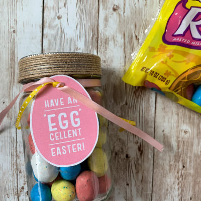 Easter Gift Idea with Mason Jars