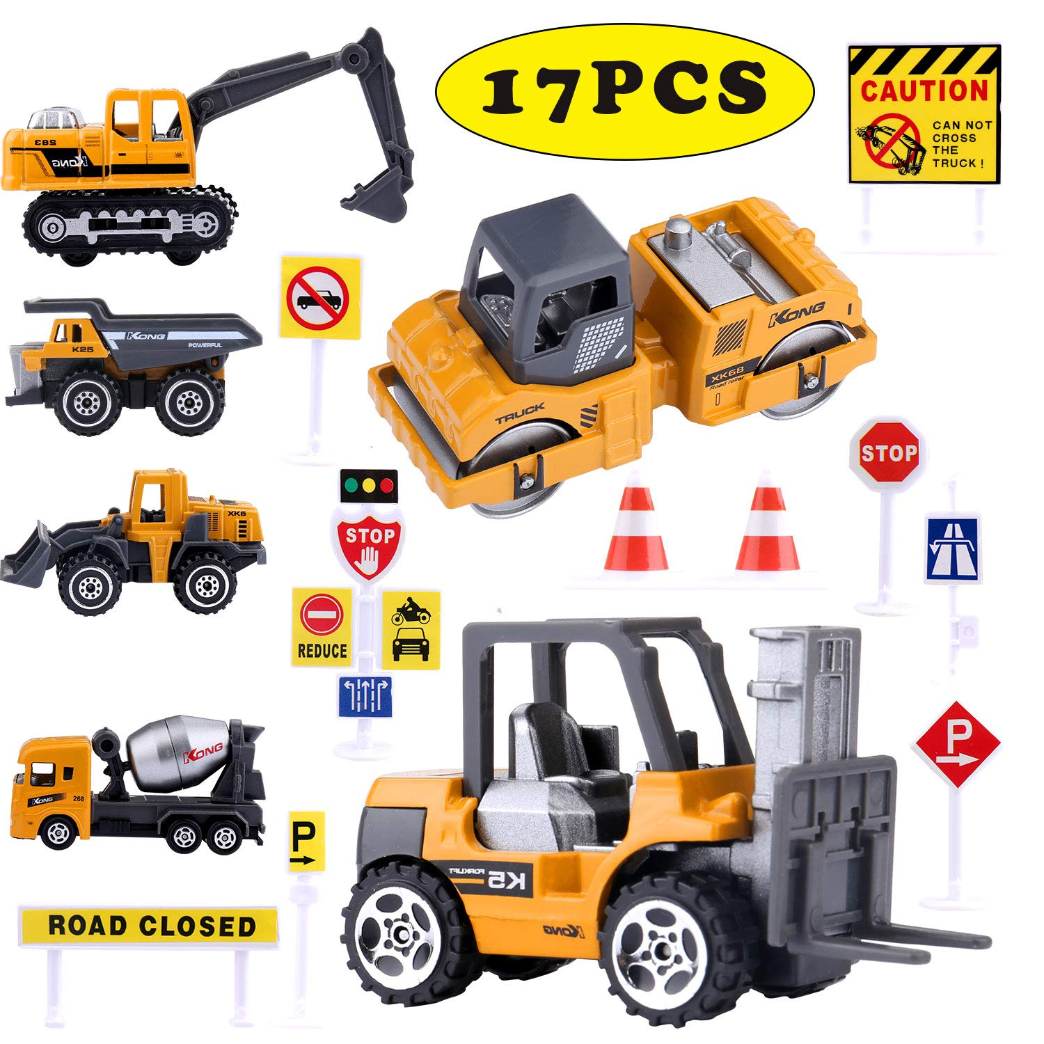 Construction Truck Toys for a party