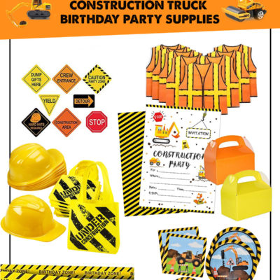 The Best Amazon Construction Truck Birthday Party Supplies