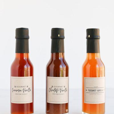 Gourmet Extract Labels (Tidbits)